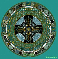 Celtic Art Portfolio Jen Delyth - Celtic Art Studio - Ninth Wave Publishing