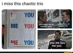 Kath 41 m i miss this chaotic trio - iFunny :) Funny Marvel Memes, Marvel Jokes, Dc Memes, Avengers Memes, Marvel Dc Comics, Marvel Avengers, Funny Jokes, Hilarious, My Guy