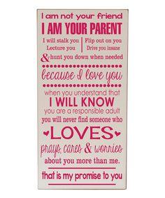 'I Am Your Parent' Wall Art