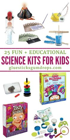 Brew up some fun with these fun and educational science kits for kids! Learning science can be exciting with the right tools!