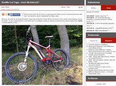 Redakcja polskiego serwisu rowerowego velonews.pl gruntownie przetestowała flagowy rower elektryczny MTB marki Kreidler - Las Vegas 2.0. Szczegóły: http://kreidler.pl/kreidler-las-vegas-2-0-odlajtowany-rower-elektryczny/