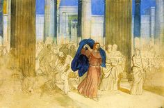 Cleansing of the Temple, Alexander Andreyevich Ivanov. Details about the cleansing of the temple are a bit sketchy.
