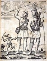 """ENGLISH/LENI-LENAPE In one of the most reproduced images of colonial America, William Penn is depicted negotiating a land purchase with the Leni-Lenape under the """"treaty tree"""" of Shackamaxon near Philadelphia. Although the treaty is not documented, Penn's equitable dealings with the Lenape are well documented in land deeds and independent accounts. He praised their """"natural sagacity,"""" respected their negotiating skills, and learned their language to be free of interpreters' errors. In this…"""