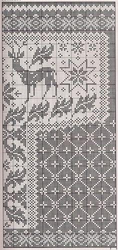 """Свитер выполнен в технике жаккардового вязания. Орнамент """"олени"""" – модный тренд зимы 2014-2015. Схемы орнамента.…"""