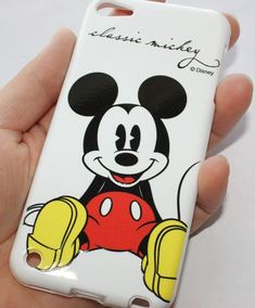 iPod Touch 5th Gen - RUBBER SILICONE GUMMY CASE COVER DISNEY RED MICKEY MOUSE #UnbrandedGeneric