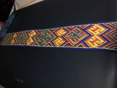 Stunning, but I don't understand the language at all and I don't know who had woven this pattern.  Yahoo!ブログ - 画像表示