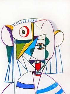 George Condo, Constructed Portrait