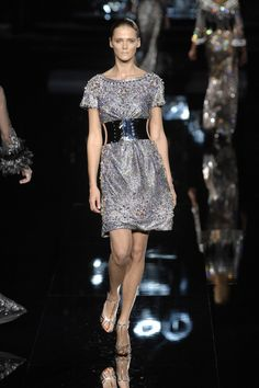 Dolce & Gabbana at Milan Fashion Week Fall 2007 - Runway Photos