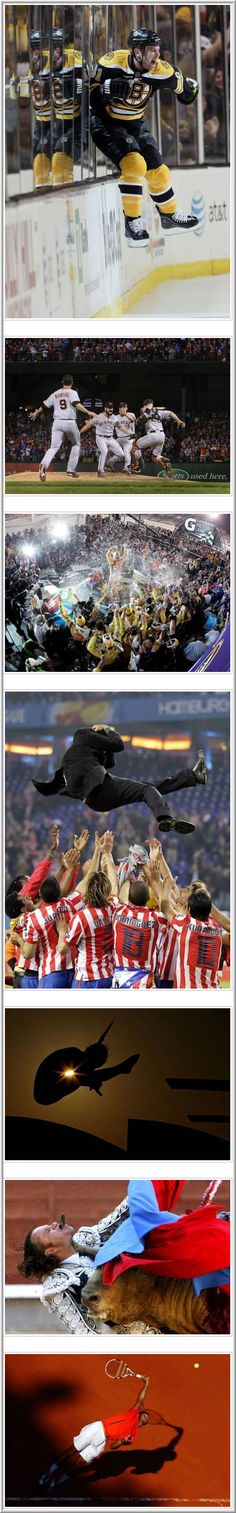 Collection of The Best Sport Photos of 2010 V