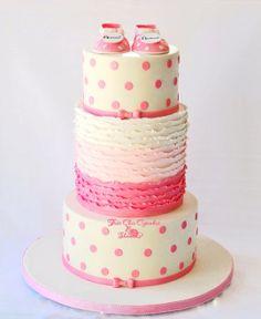 Ombre Ruffle Cake http://cakesdecor.com/cakes/72662-ombre-ruffle-cake