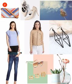 Palette Pastel Casual Wear; Start your day with something refreshing. This look is mainly inspired by pastel colours and essence of femininity.
