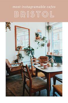 Best Cafes In Bristol - A round-up of my favorites - Tigerlilly Quinn Bristol Uk, Best Veggie Burger, Uk Lifestyle, Vintage Cafe, Cool Cafe, Good Pizza, Great Coffee, Cafe Bar, Cafes