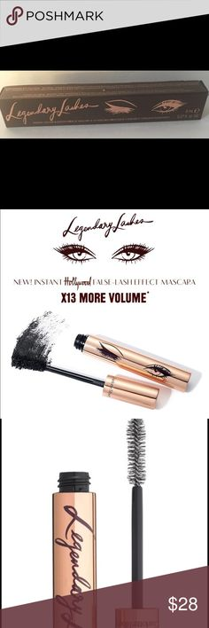 Charlotte Tilbury Legendary Lashes New in Box This is pretty. Here's the thing - mascara is a personal choice. I have been on a mission to find my mascara soul mate and I found It!  It's been a long search. This one didn't get a chance bc I'm stopping my research here 😍. This is new in box never opened. Bundle up & Enjoy 😊 Charlotte Tilbury Makeup Mascara