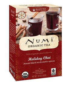 Take a look at this Holiday Chai Tea - Set of Three by Numi Organic Tea on #zulily today!