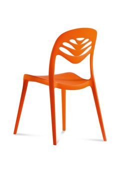 Get These MAJOR Furniture Pieces For Under $200 #refinery29  http://www.refinery29.com/cheap-living-room-furniture#slide4  Got the winter-is-coming blues? Italian-made polypropylene chairs in eye-popping orange bring warmth to the coldest of fall nights. (Bonus: You can stack up to six.)