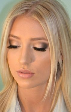 makeup for blondes with blue eyes - Google Search More