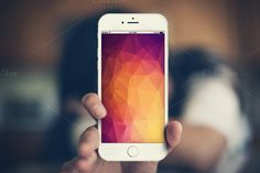 Realistic Iphone 6 Mockup by Super-Fox-Dz on Creative Market