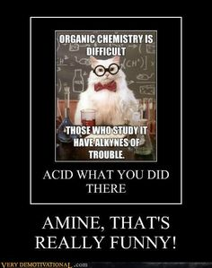 Making bad chemistry jokes because all the good ones Argon.