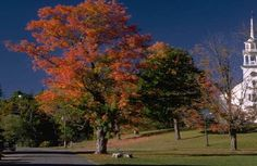 Visit New England in the Fall