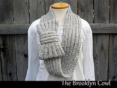 Ravelry: The Brooklyn Cowl pattern by Janet Jameson  I LOVE THIS!!!!