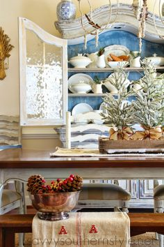 Savvy Southern Style: Christmas Dining Room