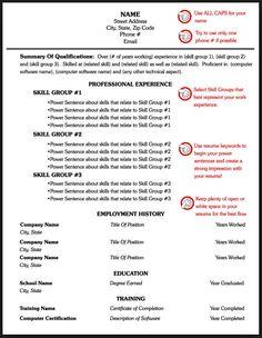 Simple Resume Sample For Job | resume | Pinterest | Simple, Resume ...