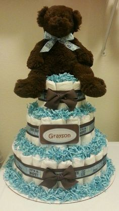 A Southern Bell's Guide to DIY Projects: Diaper Cake