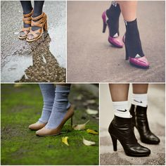Socks In Heels!!!