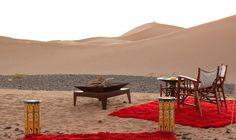 Homme Bleue Sahara Desert Camp Holiday at Chigaga