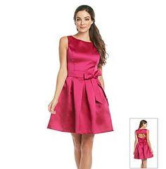 Product: Isaac Mizrahi® Full Skirt Backless Dress