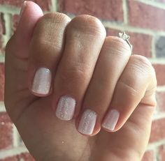 Perfect wedding nails for the bride, bridesmaids or guest! Porcelain and Bachelorette Jamberry TrūShine gel. Easily accomplished at home for a fraction of the cost of a salon. #PorcelainJN #BacheloretteJN