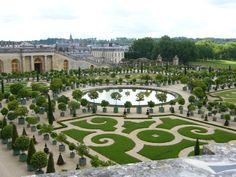 Gardens at the Chateau de Versailles, France