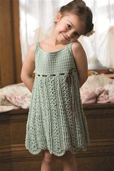 Early Girl Dress - Crochet Me