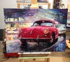 https://flic.kr/p/GYhMBX | #painting #paint #porsche #oil #newcolor #newcolordesign #новыйцвет #картина #масло #oilpainting