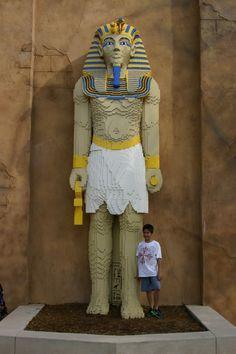 Lego King Tut, Legoland, FL.