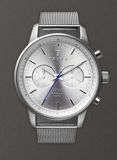 I want pretty: Color- Plateado/ Silver outfits, beauty, deco! TRIWA watch.