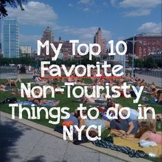 A blog post by a local New York girl about her top 10 favorite non-touristy NYC things to do. Including Marie's Crisis, Dim Sum and the Strand Book Store