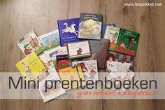 Mini prentenboeken - Lespakket - thema's, lesideeën en informatie - onderwijs aan kleuters