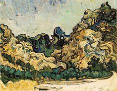 Vincent Van Gogh - Colline à Saint Remy