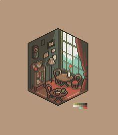 Faire Du Pixel Art, Arte 8 Bits, Pixel Art Background, Cool Pixel Art, Pix Art, Pixel Animation, Isometric Art, Pixel Art Games, Creeper Minecraft