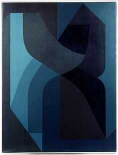 art-to:  Victor Vasarely - Rear Silour III, 1956-60 (www.artstack.com) + Not quite like his Op Art work but I think there's a real elegance ...