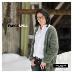 FargeSpill - Dame - Oppskrifter og materialpakker - Design by Marte Helgetun Nordic Design, Blazer, Sweaters, Hand Crafts, Fashion, Threading, Craft, Moda, Art Crafts