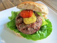 Love brats, but want a healthier version you can pronounce all the ingredients for? Try these Homemade Brat Burgers. They're quick, easy, and family-friendly! Homemade Brat Recipe, Burger Fresh, Brats Recipes, How To Make Homemade, Pork, Burgers, Stuffed Peppers, Healthy Recipes, Dinner
