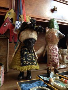 Wool en dresses little crow