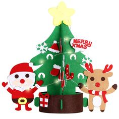 A great, meaningful Christmas craft activity toy for kids Artfully handcrafted felt Christmas tree. 🌲Inspire your Kid's Creativity: Diy Felt Christmas Tree, Christmas Toys, Christmas Decorations, Christmas Ornaments, Diy Christmas Activities, Craft Activities, Felt Diy, Merry Xmas, Xmas Gifts