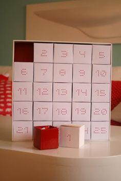 Regalos manuales de amor: Calendario adviento (Inspiración)