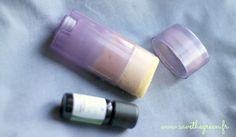 DIY : le déodorant en stick fait maison. Une recette tellement facile et efficace qu'il faut la tester d'urgence ! Vive les cosmétiques bio faits maison !!!