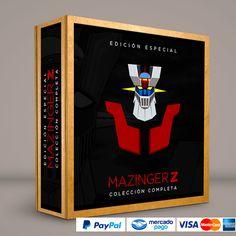 Mazinger Z #Series #Películas #DVD #BluRay Calidad HD. Presentación exclusiva de RetroReto. Pedidos: 0414.402.7582. Visita: http://www.retroreto.com.ve/