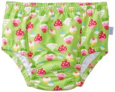 Amazon.com: i play. Baby Girls' Mix n Match Ultimate Ruffle Snap Swim Diaper: Infant And Toddler Reusable Swim Diapers: Clothing