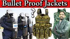 Bullet Proof Jackets | How Bullet Proof Jackets Work? | Kevlar Vest? Bod...